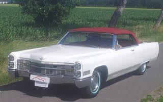 Cadillac de Ville Cabrio Rent Niedersachsen