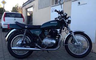 Kawasaki Z 400 B Rent Bayern