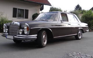 Mercedes 250 S Rent Bayern