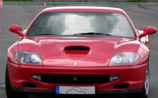Ferrari 550 Maranello Rent Niedersachsen