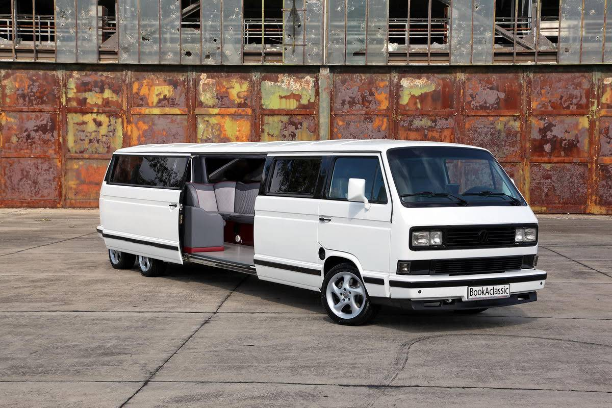 volkswagen t3 superstretchlimousine zur miete in berlin bookaclassic. Black Bedroom Furniture Sets. Home Design Ideas