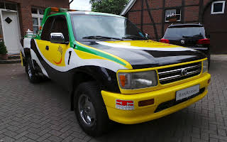 Toyota T-100 Trd 3.4 Safety Truck Rent Bremen