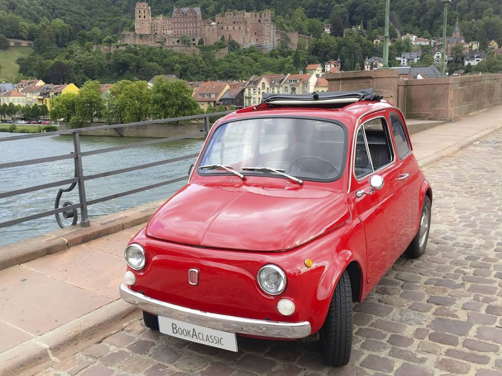 fiat cinquecento for hire in heidelberg bookaclassic. Black Bedroom Furniture Sets. Home Design Ideas