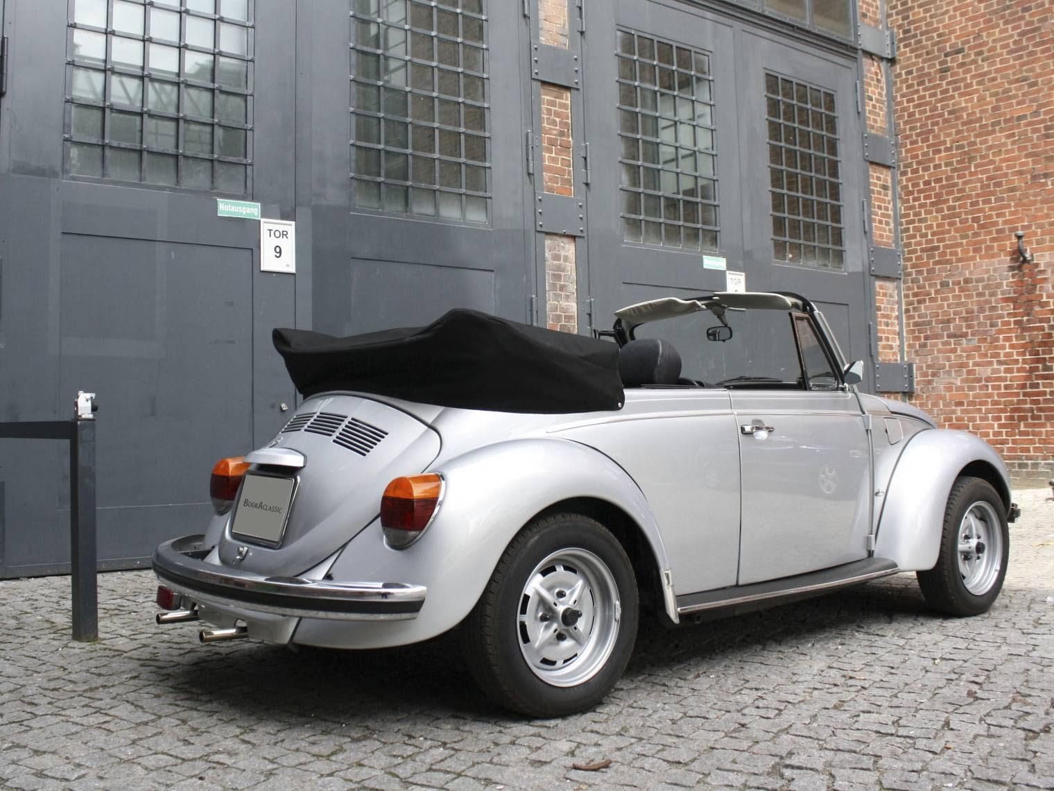 volkswagen k fer 1303 cabrio zu mieten in berlin. Black Bedroom Furniture Sets. Home Design Ideas