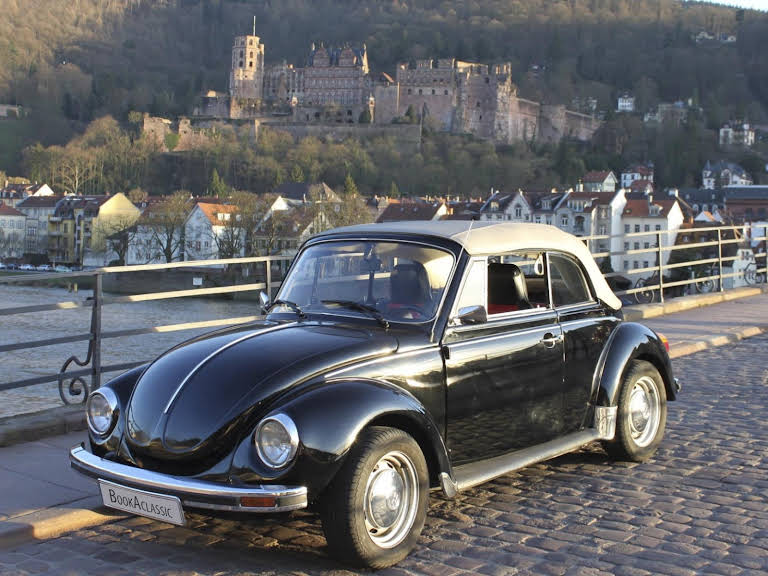 volkswagen k fer cabrio zur miete in heidelberg bookaclassic. Black Bedroom Furniture Sets. Home Design Ideas